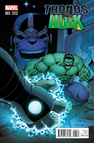 Thanos vs. Hulk #3 (Lim Cover)