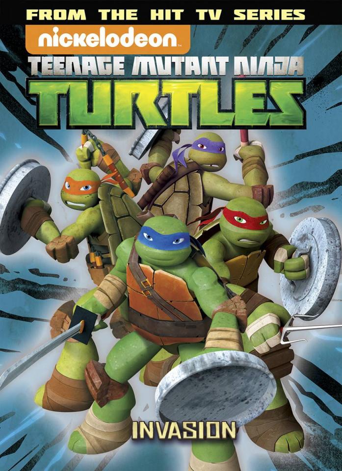 Teenage Mutant Ninja Turtles Animated Vol. 7: The Invasion