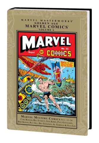 Golden Age Marvel Comics Vol. 6 (Marvel Masterworks)