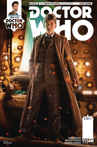 Doctor Who: New Adventures with the Tenth Doctor, Year Three #10 (Photo Cover)