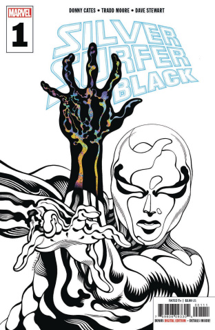 Silver Surfer: Black #1 (Moore 3rd Printing)