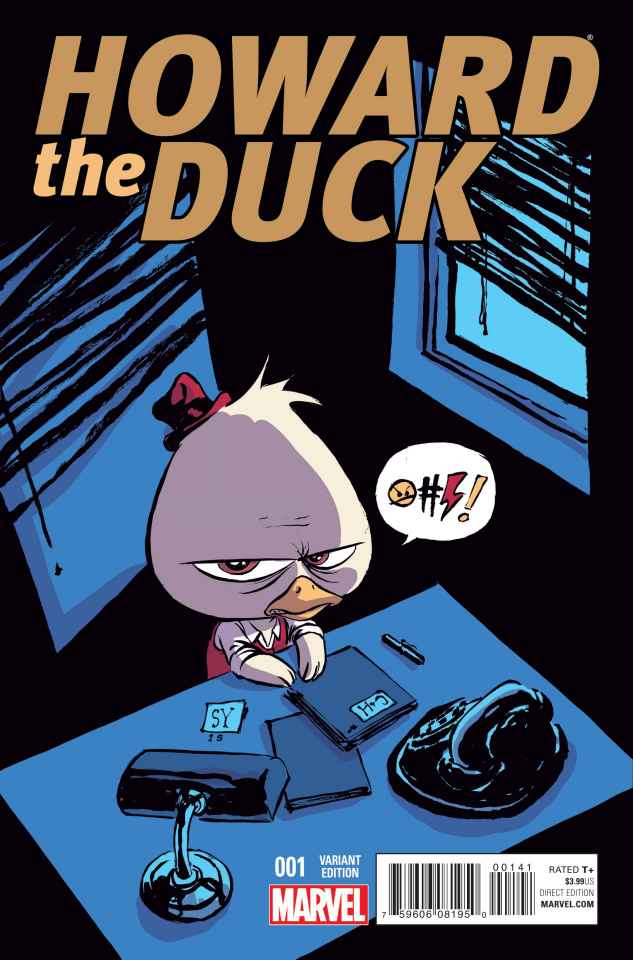 Howard the Duck #1 (Young Cover)