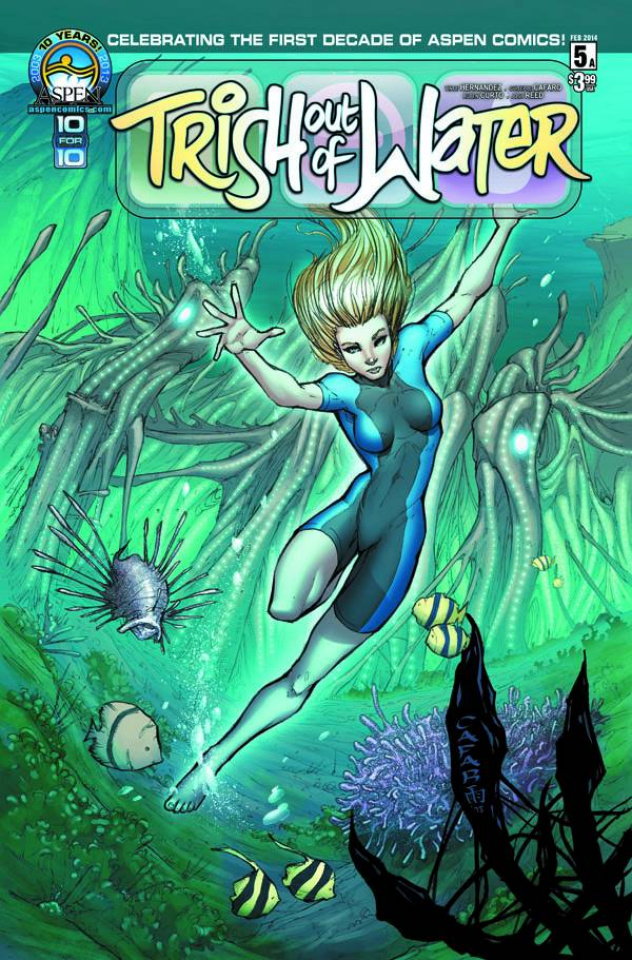 Trish Out of Water #5 (Cafaro Cover)