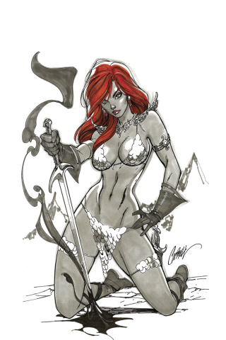 Red Sonja #1 (50 Copy Campbell Virgin Cover)