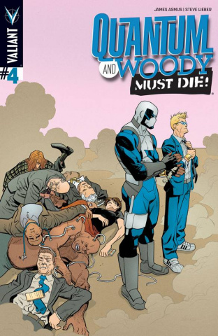 Quantum & Woody Must Die! #4 (Hawthorne Cover)