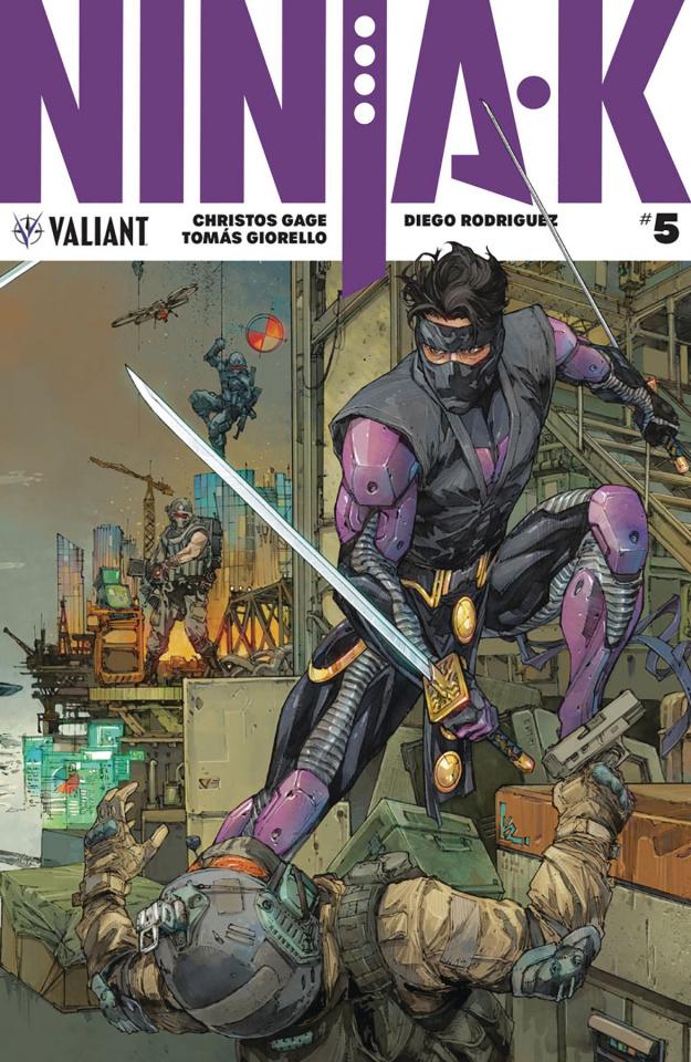 Ninja-K #5 (20 Copy Rocafort Cover)