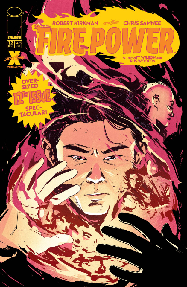 Fire Power #12 (Wu Cover)