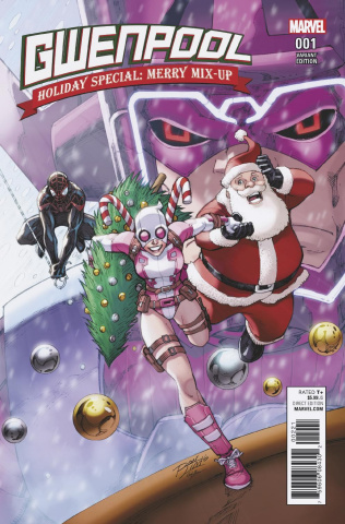 Gwenpool Holiday Special: Merry Mix Up (Lim Cover)