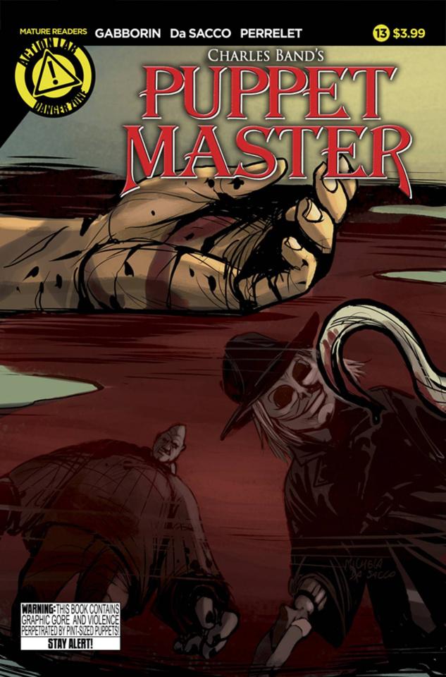 Puppet Master #13 (Da Sacco Cover)