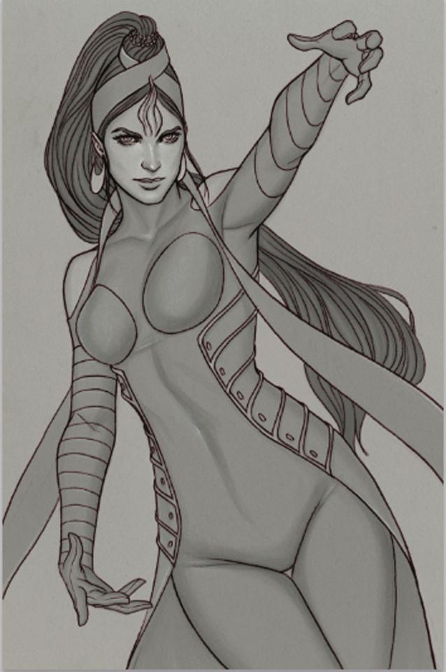 Devi: Rebirth #5 (Limited Edition Frison Sketch Cover)