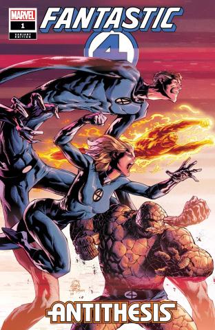 Fantastic Four: Antithesis #1 (Stegman Cover)