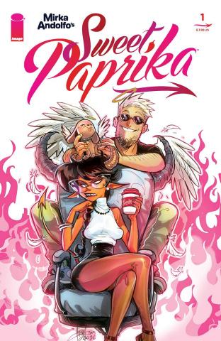 Sweet Paprika #1 (Andolfo Cover)