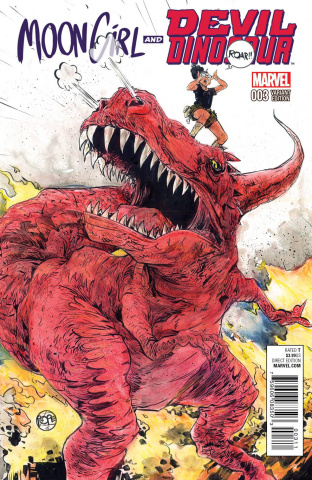 Moon Girl and Devil Dinosaur #3 (Pope Cover)