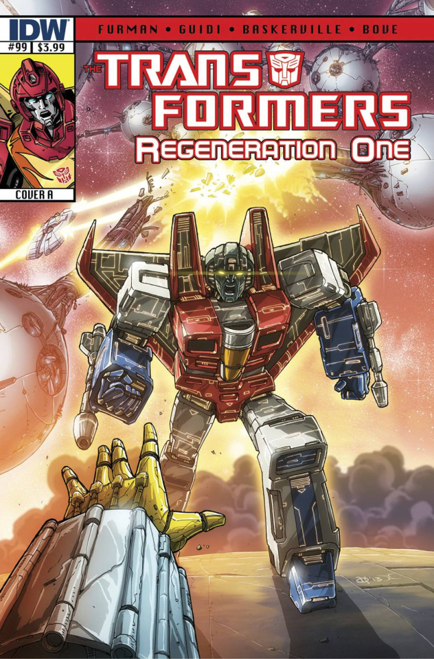 The Transformers: Regeneration One #99