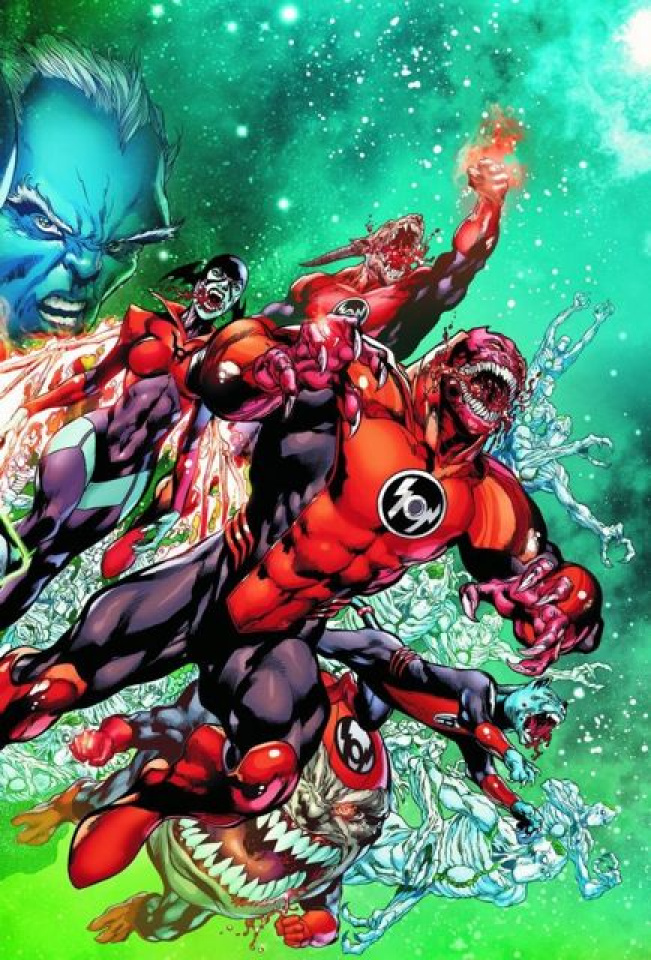 Red Lanterns #13