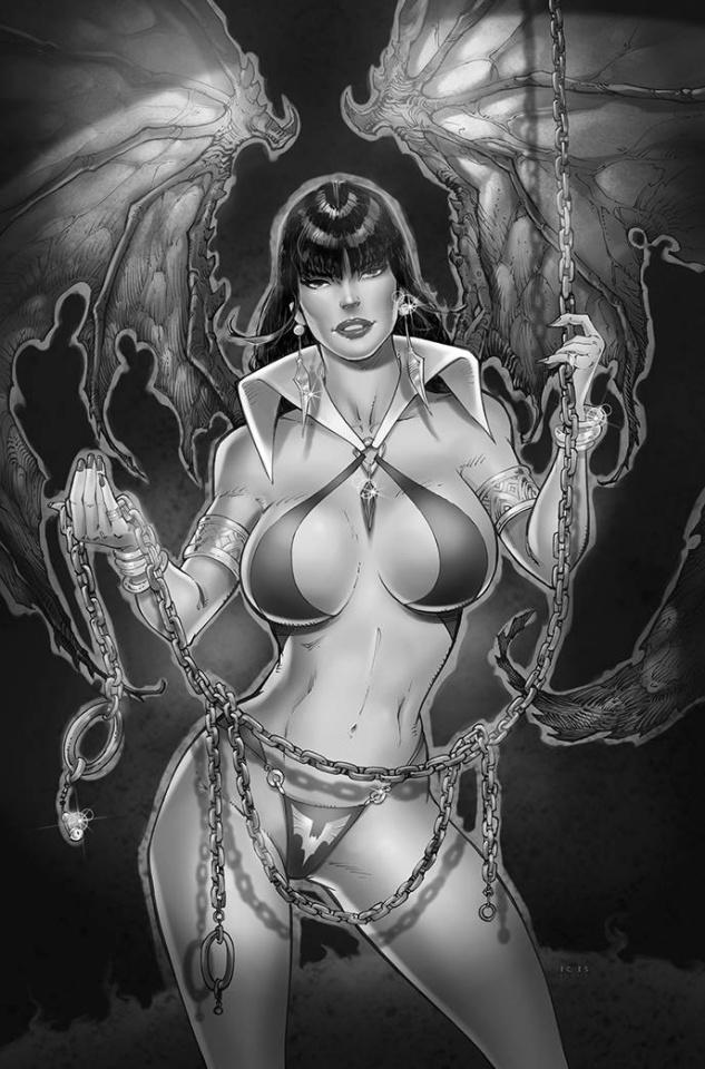 Vampirella #21 (7 Copy White B&W Virgin Cover)