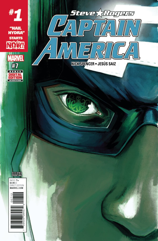 Captain America: Steve Rogers #7 (2nd Printing Hans Cover)