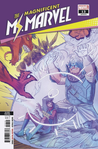 The Magnificent Ms. Marvel #13 (Vazquez 2nd Printing)