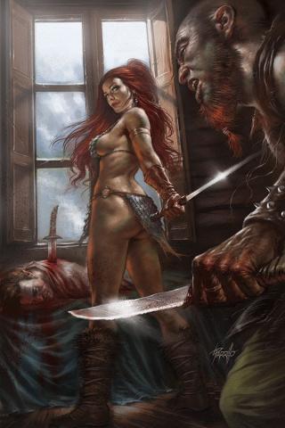 Red Sonja: Birth of the She-Devil #2 (Parillo Virgin Cover)
