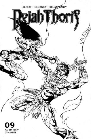 Dejah Thoris #9 (7 Copy Castro B&W Cover)