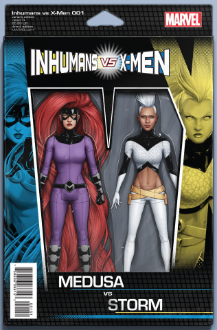 IvX #1 (Christopher Action Figure Cover)