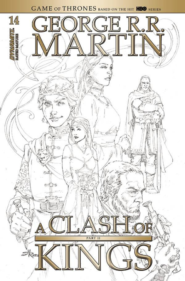 A Clash of Kings #14 (20 Copy Rubi B&W Cover)