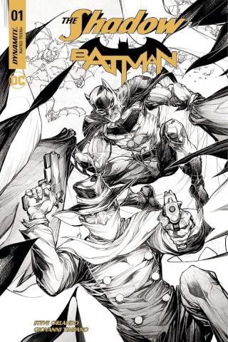 The Shadow / Batman #1 (10 Copy Porter Cover)