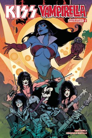 KISS / Vampirella #2 (Castro Cover)