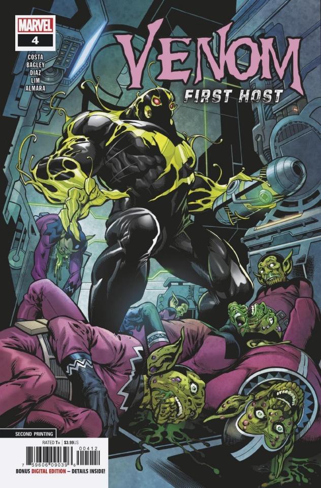 Venom: First Host #4 (Bagley 2nd Printing)