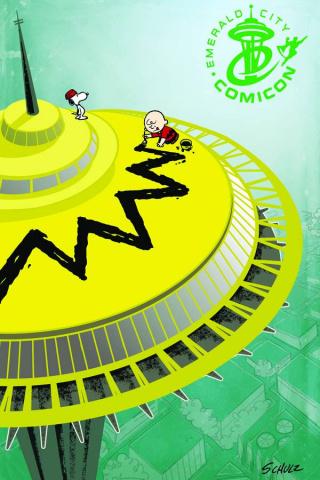 Peanuts #6 (Emerald City Comic Con Cover)