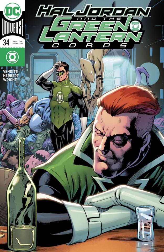 Hal Jordan and The Green Lantern Corps #34 (Variant Cover)