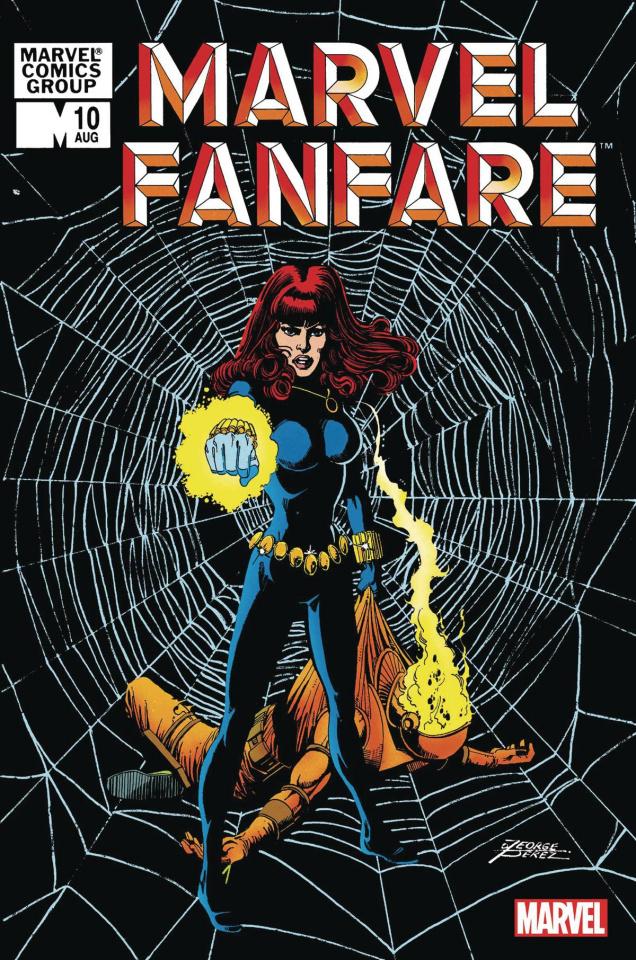 Marvel Fanfare #10 (Facsimile Edition)