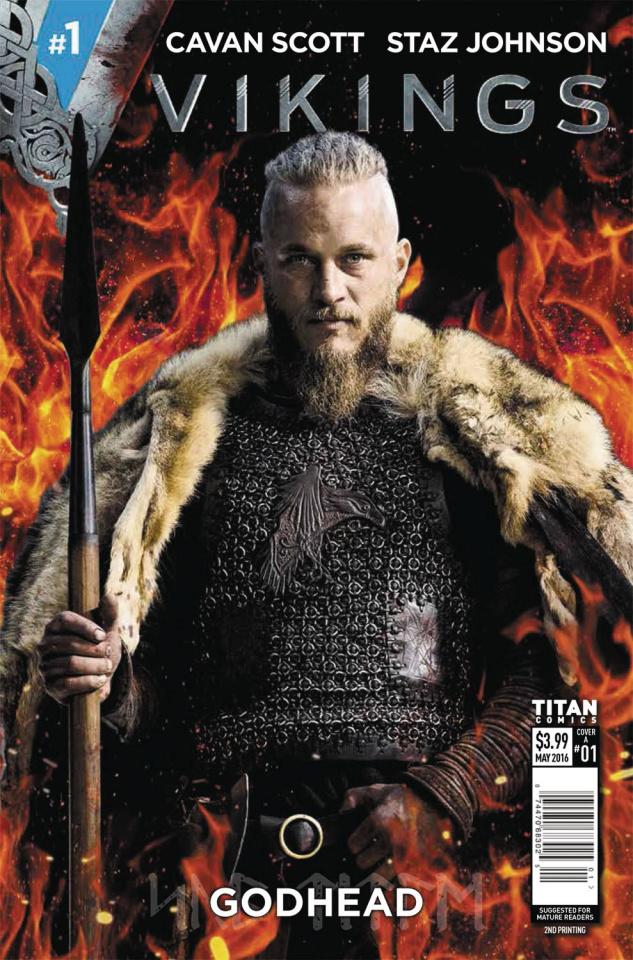 Vikings #1 (2nd Printing)