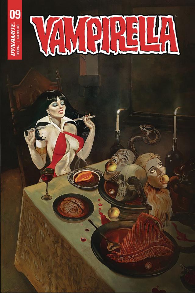 Vampirella #9 (Dalton Cover)