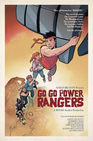 Go, Go, Power Rangers! #12 (Subscription Mok Cover)