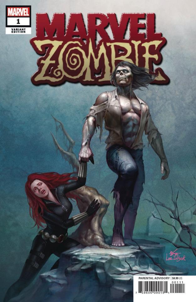 Marvel Zombie #1 (In-Hyuk Lee Cover)