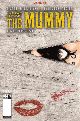 The Mummy #4 (Perkins Cover)
