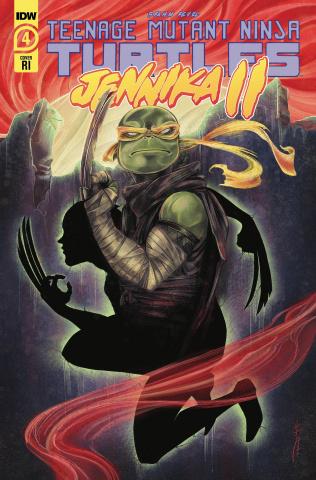 Teenage Mutant Ninja Turtles: Jennika II #4 (10 Copy Sara Richard Cover)