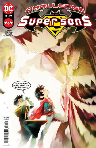 Challenge of the Super Sons #3 (Simone Di Meo Cover)