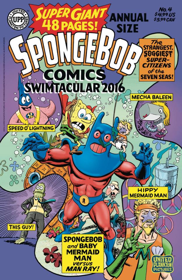 Spongebob Comics Annual Giant Swimtacular #4