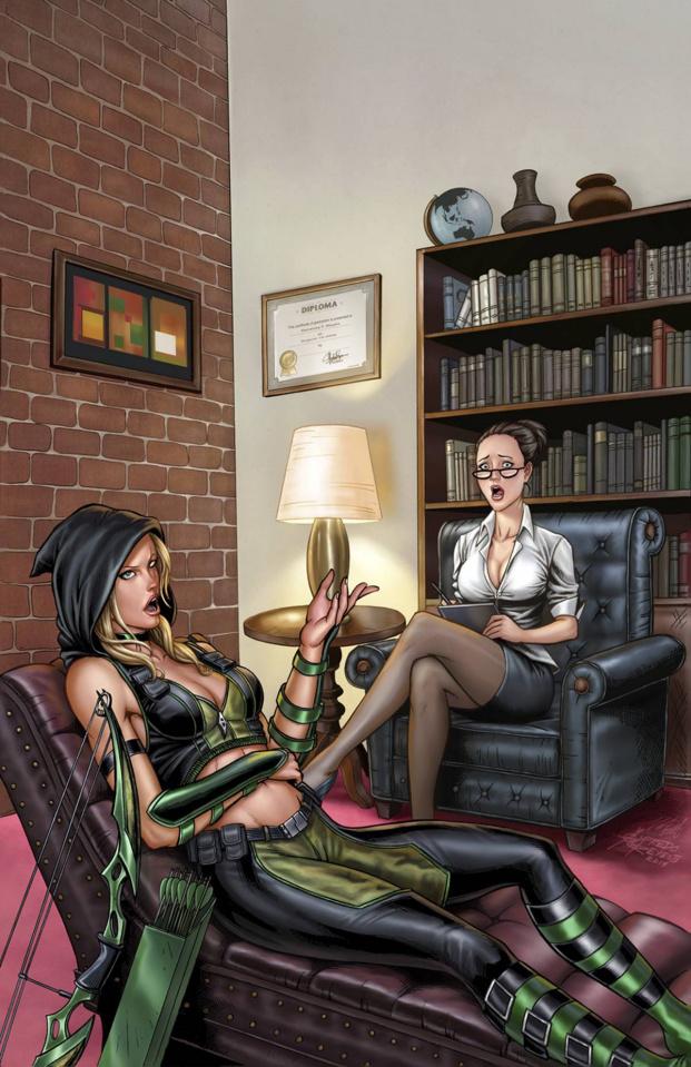 Grimm Fairy Tales: Robyn Hood #6 (Reyes & Bartlett Cover)