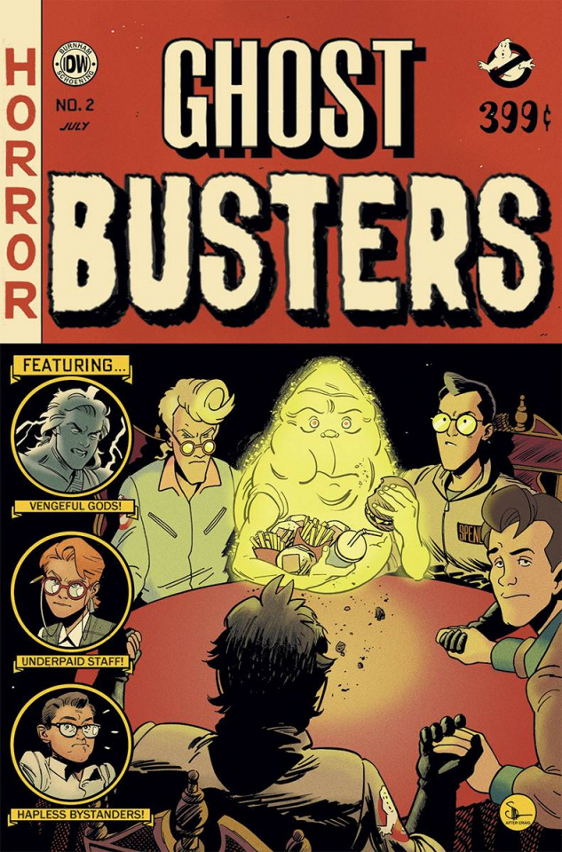 Ghostbusters: Get Real #2 (EC Subscription Cover)