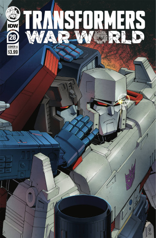 The Transformers #28 (Casey W. Coller Cover)