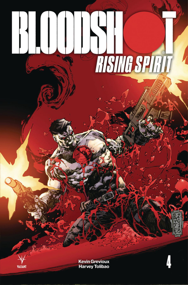 Bloodshot: Rising Spirit #4 (20 Copy Battle Cover)