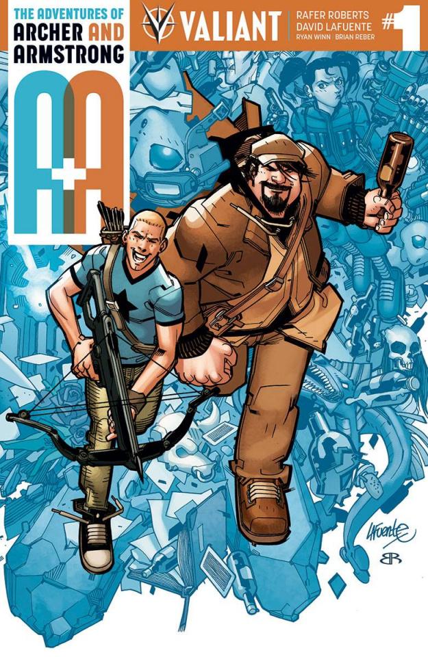 A&A #1 (Lafuente Cover)