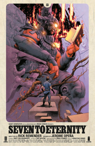 Seven to Eternity #13 (Opena & Hollingsworth Cover)