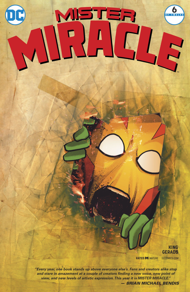 Mister Miracle #6 (Variant Cover)