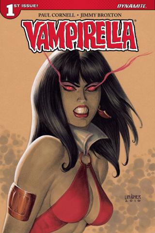 Vampirella #1 (Linsner Cover)