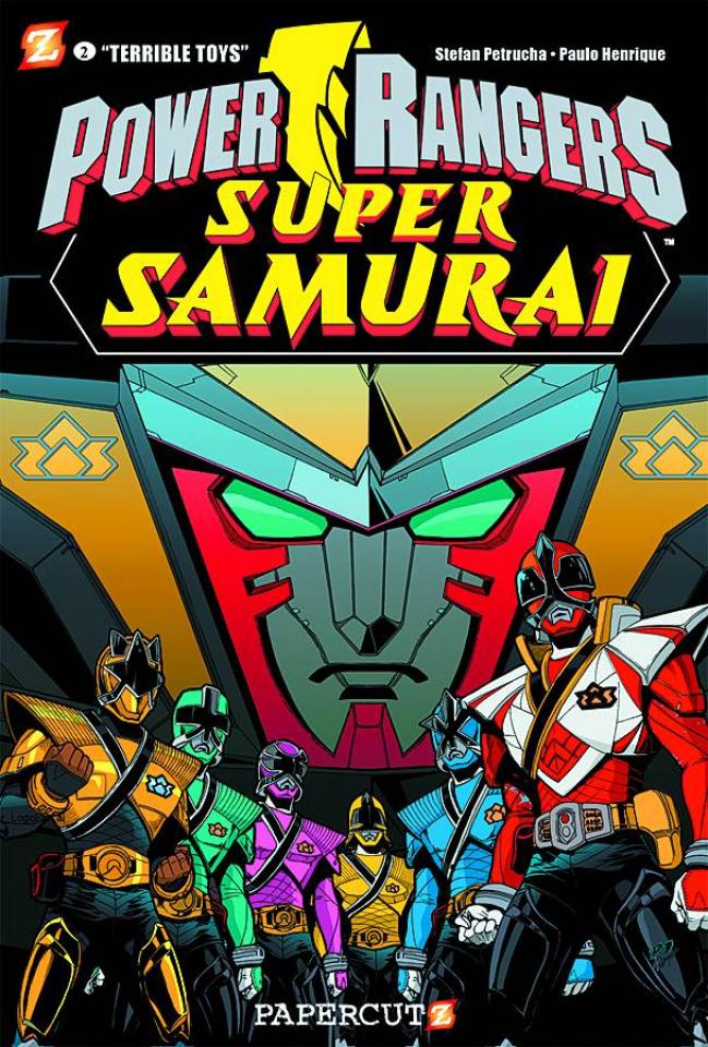 Power Rangers: Super Samurai Vol. 2: Terrible Toys