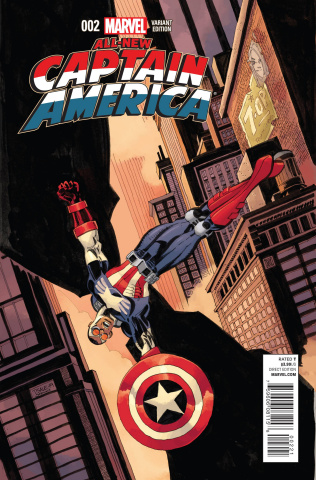 All-New Captain America #2 (Sale Cover)